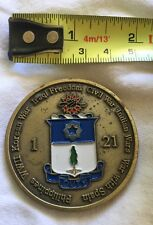 1st Battalion 21st  Infantry Gimlets  Coin of Excellence - U.S. Military A29