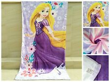 Disney Kids/Adult Princess Rapunzel Cotton Beach Bath Towel 80cm*150cm