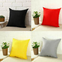 "Home Sofa Decor Pillow Cover Case Cushion Cover Square Size 16x16"" 18x18"" 20x20"""