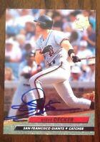 Steve Decker Hand Signed 1992 Fleer Ultra Baseball Card San Francisco Giants