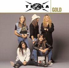 Gold by Tesla (CD, Aug-2008, 2 Discs, Geffen)