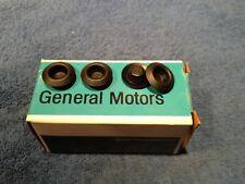 "GM 1/2"" Body Plugs NOS Oldsmobile F-85 Cutlass 442 Delta 88 Toronado 1/2"" (4)"