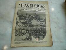 journal Excelsior 17 03 1916 Troupes de l'armée du Caucase 14-18
