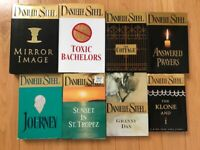 Lot of 8 Hard Cover Danielle Steel Books: Journey, The Cottage, Answered Prayers