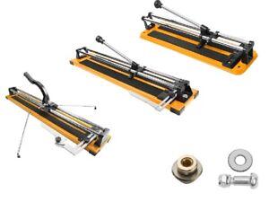 Wall Floor Tile Cutter Heavy Duty Manual Score Snap 400mm 600mm 10-12mm