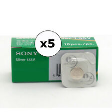 5 x Sony Watch battery, All Sizes, Silver Oxide, Long Life,Top Quality Batteries