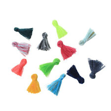 ❤ 10 x Mixed TASSEL Pendant For Keyring/Earrings/Necklace 15mm Jewellery Making❤