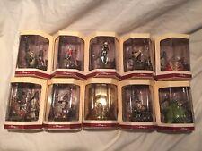 Disney Tiny Kingdom Nightmare Before Christmas 1993 Set of 10 figurines halmark