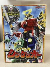 Power Ranger Samurai Megazord Samurai Sentai Shinkenger Japanese Version