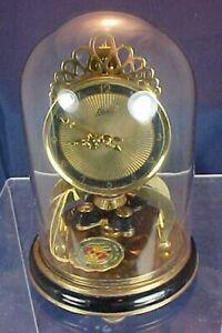 Vintage Schatz Sohne 53 Anniversary Clock Small Size 2 Jewels Original Tag