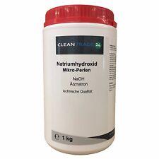 1kg Ätznatron, Natriumhydroxid, NaOH, Abbeizmittel, Seifenherstellung