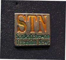 SEOUL 1988 SUMMER Olympic  STN Saskatchewan Television News staff  pin  Rare *