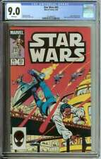STAR WARS #83 CGC 9.0 WHITE PAGES