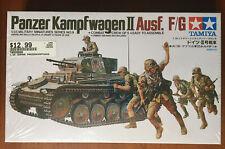 Panzer Kampfwagen II Ausf. F/G - Tamiya 1/35 kit#MM-9 - sealed/NIB