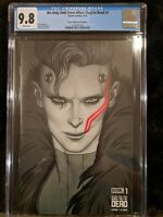 WE ONLY FIND THEM WHEN THEY'RE DEAD #1 CGC 9.8 JENNY FRISON BLACK & WHITE BOOM!