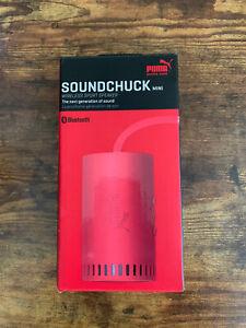 Puma Soundchuck Mini Wireless Bluetooth Speaker Red Brand New In Box