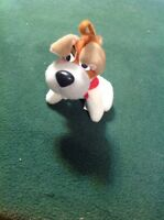 Vintage 1988 McDonald's Happy Meal Plush Toy Dodger the Dog Walt Disney