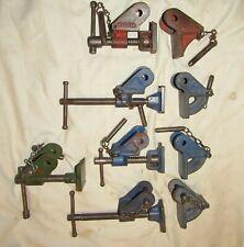 4 pairs used vintage Clamp heads Record Marples Redeca vintage tools sash clamp