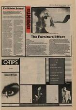 Q-Tips Tracks Of My Tears Paul Young Tour Advert NME Cutting 1980