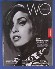 AMY WINEHOUSE mag.FRONT cover Poland WYSOKIE OBCASY No 32/2015