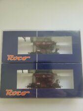 2 HO  roco ore wagons new boxed