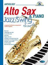 Jazz Swing Duos pour Saxophone Alto & Piano Saxophone Alto, Piano Accompaniment Feuille