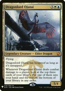 DRAGONLORD OJUTAI - The List - Mystery Booster - Legendary MYTHIC RARE MtG Card