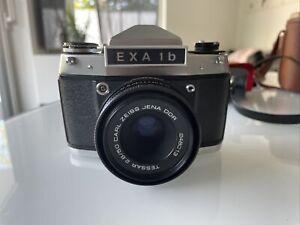 EXA 1 B inkl. Carl Zeiss Jena DDR Objektiv 2.8/50 mit Etui
