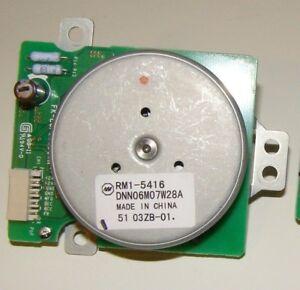 Genuine HP Drive Drum Developer Motor Assembly Part# RM1-5416 OEM Motor - Unused
