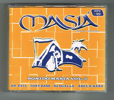 MASIA - SONIDO MASIA VOL.2 - COFFRET 2 CD + 1 DVD - 2009 - COMME NEUF