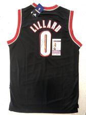 Damian Lillard Signed Jersey JSA COA Portland Trail Blazers Autographed Black 🔥