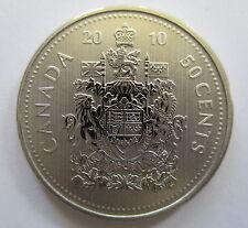 2010 CANADA 50 CENTS SPECIMEN HALF DOLLAR COIN