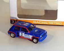 Renault 5, Turbo Rally, azul, NOREV, 1:64