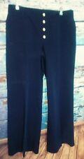 Lauren Ralph Lauren Women's pants size 16 blue Sailor look nautical wide leg