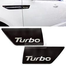 Turbo Logo Fender Molding Side Point Black Pear for KIA 2011 - 2015 Optima / K5