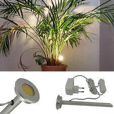 LED Zimmerpflanzenlampe Nele Aluminium 3 Watt Pflanzenstrahler Pflanzenlampe