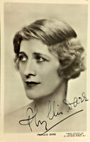 PHYLLIS DARE ACTRESS SIGNED REAL PHOTO POSTCARD RPPC