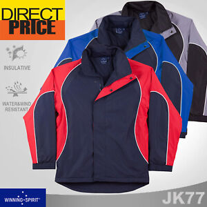 Unisex Jacket Nylon Rip-Stop Warm Workwear Uniform Outdoor Winter Casual JK77