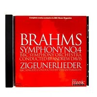 Brahms Symphony No 4 Cd BBC Music Magazine Orchestra Perfect Disc 1997 Classical