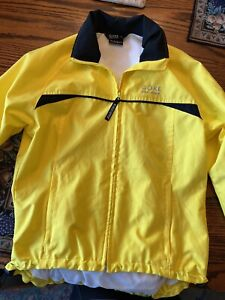 Gore wind-stopper cycling jacketwomen's Specific With Carry Pouch Small