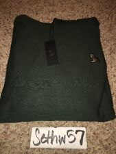October's Very Own OVO Owl Patch Hoodie Forest Green Drake Size XL w/ receipt