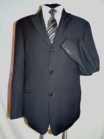 HUGO BOSS CLASSIC DESIGNER BLACK FORMAL/WORK SUIT JACKET UK 38 EU 48