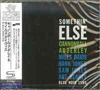 CANNONBALL ADDERLEY-SOMETHIN' ELSE -JAPAN SHM-CD C94