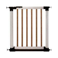 barrière de sécurité en aluminium Alugate Indicator Argento/Ciliegio Baby Dan
