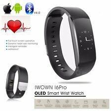 IP67 Smart Heart Rate Bracelet Watch Bluetooth SMS/Call Fitness Activity Tracker