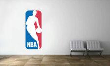 National Basketball Association NBA Official Basketball Logo Wall Decal Sticker