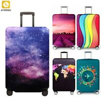 Luggage Protective Cover Elastic Fabric Trolley Suitcase Case Dust Cover Travel