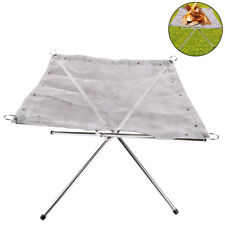 Portable Fire Pit Outdoor Folding Patio Heater Foldable Camping Stove Burner
