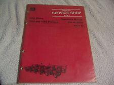 11834 John Deere Operators Manual 1260 and 1280 Planters