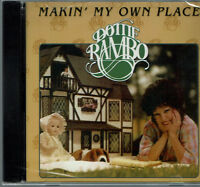 Dottie Rambo Makin' My Own Place CD Southern Gospel Rambos NEW